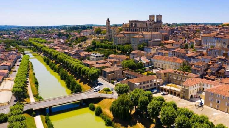Riviere du gers - Occitanie - France